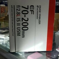 Lensa Canon EF 70-200 F/2.8L IS II USM Imange Stabilizer Ultrasonic
