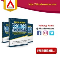 Buku Bisnis Rahasia Membuat Promomsi Yang Menjual | Ahza Bookstore