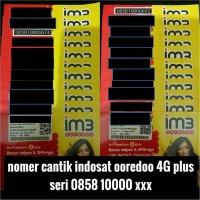 nomer cantik indosat ooredoo 4G plus kartu perdana im3 not mentari