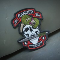 75th Ranger Regiment RLTW Embroidery Patches