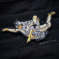 HALO Jumper B Embroidery Patches