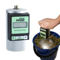 WILE 25 Moisture meter for hay / alat ukur kadar air pada Jerami