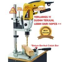 harga Stand Bor / Drill Stand / Dudukan Bord Tangan 13mm Carson Tokopedia.com
