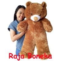 Boneka Beruang Teddy Bear Jumbo 90cm Coklat