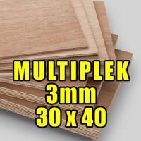 Triplek /Multiplek 3mm ( 30x40 )cm