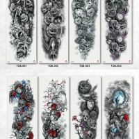 Tato/Tatto temporary/Tatto temporer/Tatto full lengan 17x46 Baru TQB