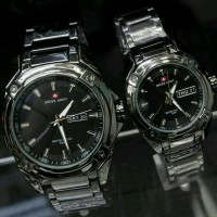 NEW ARRIVAL JAM TANGAN COUPLE SWISS ARMY