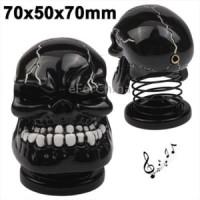 Harga usb powered creative skull style mini metal | antitipu.com