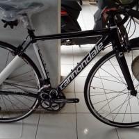 6c221243207 Fullbike Sepeda Cannondale CAAD Optimo Sora Size 48 Hitam New Free Ong