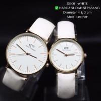 Jam tangan couple dw shieffield tali kulit daniel welli