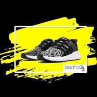 SEPATU ADIDAS EQT Support 93/17 Glitch  Black White ORIGINAL SNEAKERS