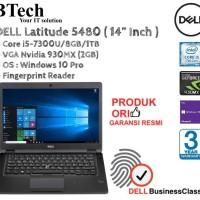 DELL Latitude 5480 Core i5-7300U/8GB/1TB/VGA Nvidia 930MX
