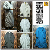 Limited Edition Baju Al Amwa jubah gamis katun rethobe saudi zipper a