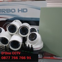 PAKET CCTV 8 KAMERA TURBO HD 1MP ( INCLUDE BIAYA PASANG JAKARTA )