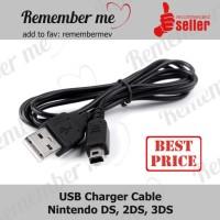 Kabel Cas USB Charger Nintendo DS DSi LL 3DS 3DSXL tanpa box