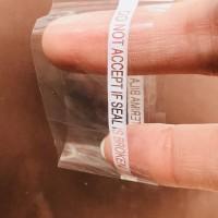 Plastik segel botol bening shrink film