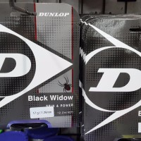 Senar Tenis DUNLOP BLACK WIDOW SPIN POWER BARU