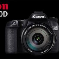 Canon EOS 70D Wifi Kit 1 (18-55mm) Berkualitas
