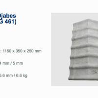 Djabesmen Genteng Lisplang Untuk Atap Djabes Genteng G400