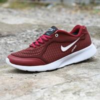 Sepatu Nike Sport Airmax Running - Merah Maroon 68b995ad85