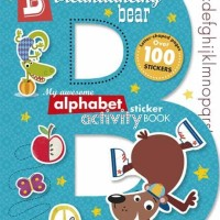 B is for Breakdancing Bear - My Awesome Alphabet Sticker Activity Book