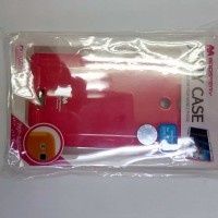 New case cover casing HP Sony Xperia ZR Mercury Pearl Jelly Original