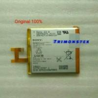 New Batre Batere HP Sony Xperia Z Original 100 ASLI