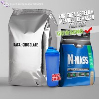 ANS N MASS 2KG REPACK TRIAL SIZE WEIGHT GAINER TERMURAH