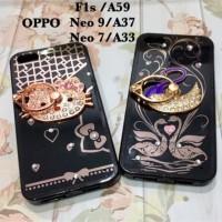 Oppo F1s neo 7 neo 9 a59 a37 a33 iphone 5 5s SE ring soft case premium