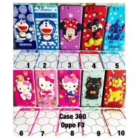 Harga case 360 boneka timbul oppo f3 cute cat doraemon hello kitty pooh | Pembandingharga.com
