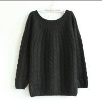 BAJU WANITA SWEATER Discount Sweater wool rajut Tebal untuk liburan