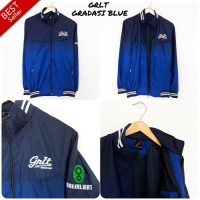 Jaket Parasut Waterproof GREENLIGHT GRADASI BLUE