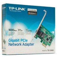 TP-LINK TG-3468 GIGABIT PCIE ADAPTER / CARD NETWORK / LAN CARD ETHERNE