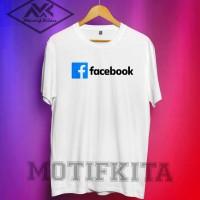 Kaos FACEBOOK FB keren Distro Motifkita