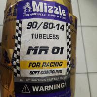 Ban Mizzle Soft Compound 90 per 80-14 MR 01