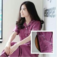 Baju Tidur/ Piyama/ Pajamas Wanita Remaja/ Dewasa 22 Polos Ready Stock