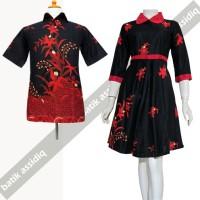 Baju Batik Couple   dress batik sepasang suami istri SA 593