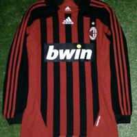 jersey original ac milan home 2007/2008 formotion