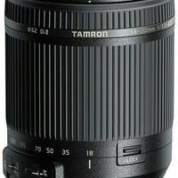 Lensa Tamron 18-200 F/3.5-6.3 II VC For Nikon & Canon (Resmi)