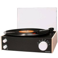 CROSLEY SWITCH TURNTABLE with AM/FM Radio and Bluetooth Input