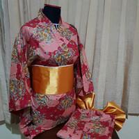 Yukata Costume Cosplay Jepang, get free purse !!!