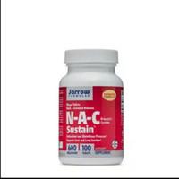 jarrow nac sustain 600mg glutathione booster 100 tablets