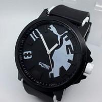 Harga jam tangan puma hitam putih cowok | CekHarga.PW