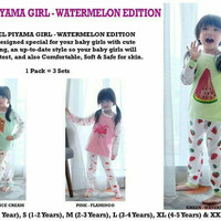 KAZEL PIYAMA GIRL WATERMELON EDITION