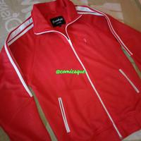 Jaket Tracktop Greenlight Original Red Jacket