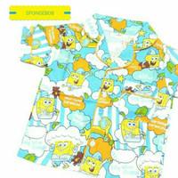 Piyama Anak/Baju Tidur Anak/Piyama Spongebob