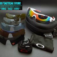 Kacamata Tactical Oakley MAGNUM White