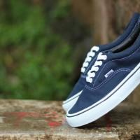 Sepatu Vans Autentik Navy Putih Premium Sepatu Kets Sepatu snikers