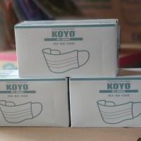 SENSI KOYO MASKER 3PLY FACE MASK MASKER DEBU MASKER MULUT MASKER MOTOR