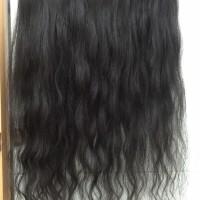 hair clip human hair 100% (alias rambut asli)